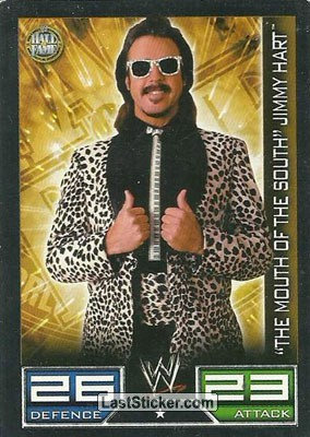 """The Mouth Of The South"" Jimmy Hart (Hall of Fame card)"