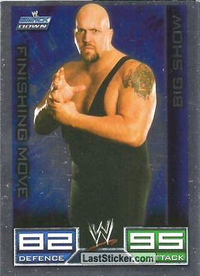 Big Show (Finishing Move card)