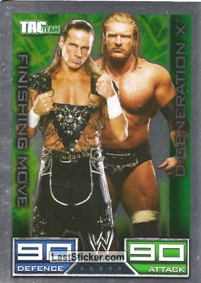 D-Generation X (Finishing Move card)