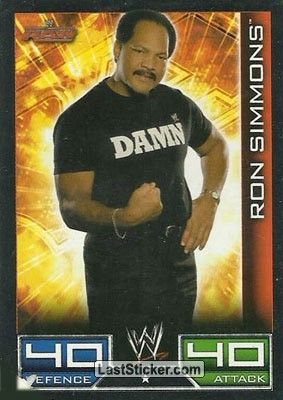 Ron Simmons (Raw card)