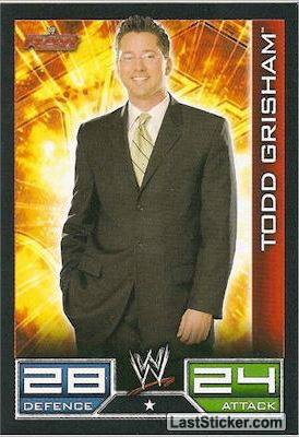 Todd Grisham (Raw card)