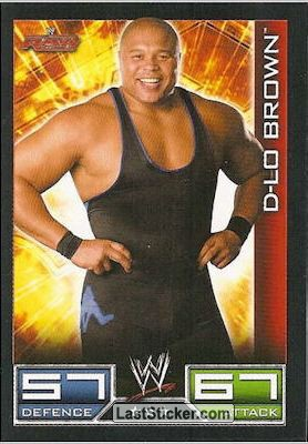 D-Lo Brown (Raw card)