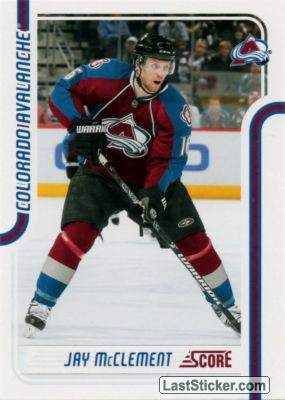 Jay McClement (Colorado Avalanche)