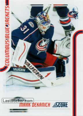 Mark Dekanich (Columbus Blue Jackets)