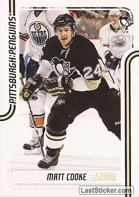 Matt Cooke (Pittsburgh Penguins)