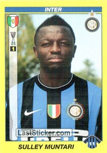 SULLEY MUNTARI (Inter)