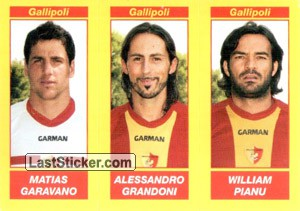 MATIAS GARAVANO - ALESSANDRO GRANDONI - WILLIAM PIANU (Serie B TIM)
