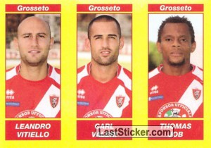 LEANDRO VITIELLO - CARL VALERI - THOMAS JOB (Serie B TIM)