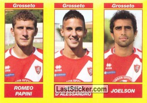ROMEO PAPINI - MARCO D'ALESSANDRO - JOELSON (Serie B TIM)