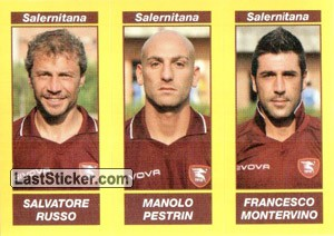 SALVATORE RUSSO - MANOLO PESTRIN - FRANCESCO MONTERVINO (Serie B TIM)