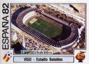 Vigo - Estadio Balaidos (Estadio)