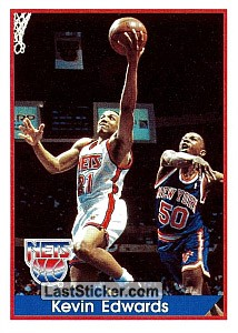 Kevin Edwards (New Jersey Nets)