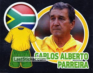 Country Flag / The Boss: Carlos Alberto Parreira (South Africa)