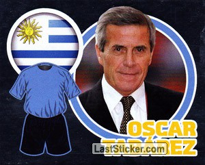 Country Flag / The Boss: Oscar Tabárez (Uruguay)