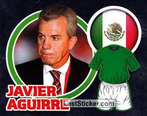 Country Flag / The Boss: Javier Aguirre (Mexico)