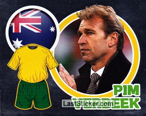 Country Flag / The Boss: Pim Verbeek (Australia)