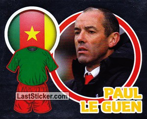 Country Flag / The Boss: Paul Le Guen (Cameroon)