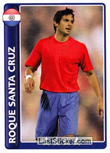 Star Player: Roque Santa Cruz (Paraguay)