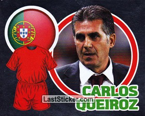 Country Flag / The Boss: Carlos Queiroz (Portugal)