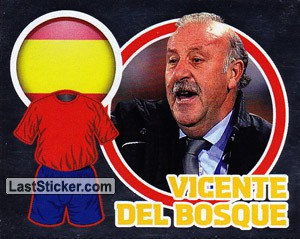 Country Flag / The Boss: Vicente Del Bosque (Spain)