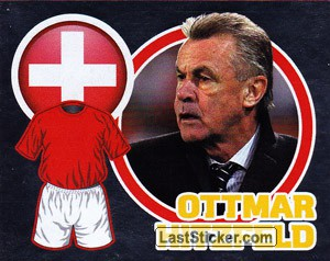 Country Flag / The Boss: Ottmar Hitzfeld (Switzerland)