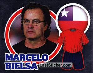 Country Flag / The Boss: Marcelo Bielsa (Chile)