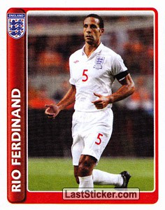 Captain: Rio Ferdinand (The England Team)