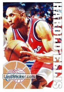 Sticker 218 Harold Ellis Panini Nba Basketball 1995 1996 Laststicker Com