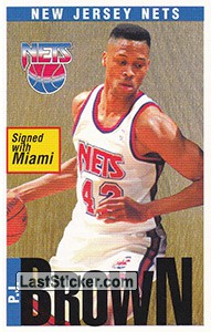 P.J. Brown (New Jersey Nets)