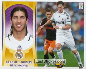 Sergio Ramos (#3) (REAL MADRID)