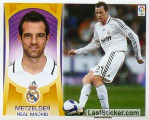 Metzelder (#6B) (REAL MADRID)
