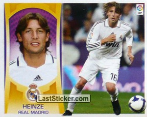Heinze (#7B) (REAL MADRID)
