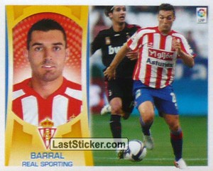 Barral  (#15) (REAL SPORTING)