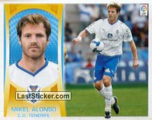 Mikel Alonso (#10A) (C.D. TENERIFE)