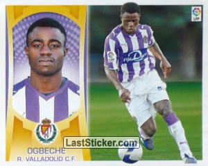 Ogbeche (#16) (R.VALLADOLID C.F.)
