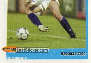 Francesco Coco (puzzle 2) (Azzurrini (Italia Under 21))