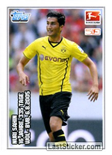 Nuri Sahin (Youngest Bundesliga Player)