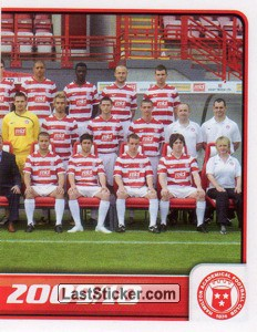 Hamilton Academical Squad - Part 2 (Hamilton Academical)