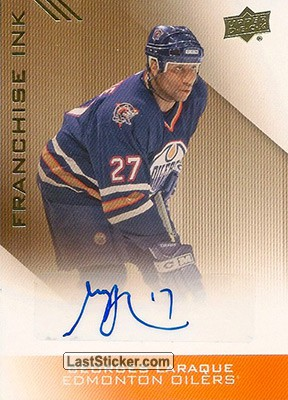 Georges Laraque (Franchise Ink)