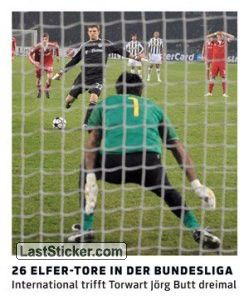 26 Elfer-Tore in der Bundesliga (Rekorde!)