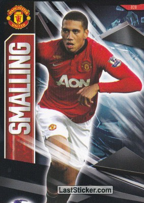 Chris Smalling (Line-Up Cards)