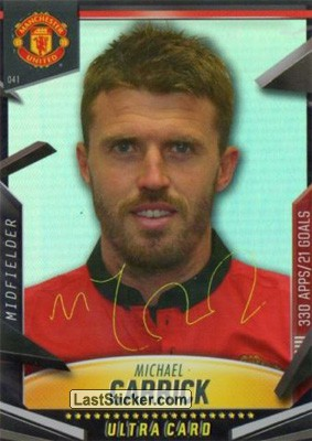 Michael Carrick (Line-Up Cards)