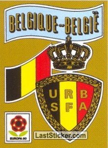 BELGIQUE Badge (BEL)