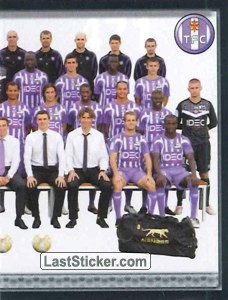 Equipe (puzzle 2) (Toulouse FC)