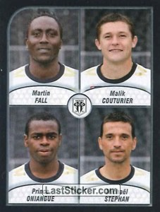 Fall/Couturier/Oniangue/Stephan (Angers SCO)