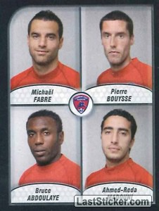 Fabre/Bouysse/Abdoulaye/Madouni (Clermont foot Auvergne 63)