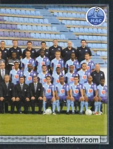 Equipe (puzzle 2) (Havre Athletic Club)