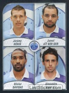 Henin/Ait Ben Idir/Davidas/Bonnet (Havre Athletic Club)