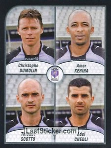 Dumolin/Kehiha/Scotto/Chedli (FC Istres Ouest Provence)