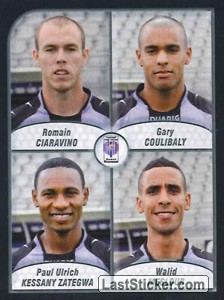 Ciaravino/Coulibaly/Zatenga/Mesloub (FC Istres Ouest Provence)